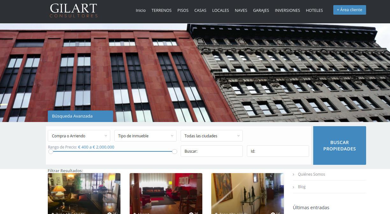 Desarrollo inmobiliario Gilart.es